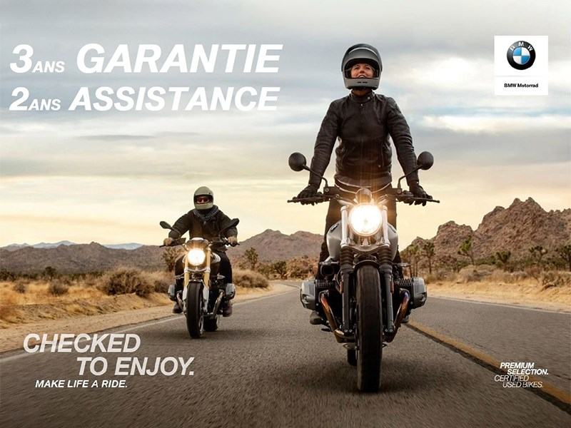 Jusqu'au 30 avril, profitez de l'action 3 ans de garantie sur nos motos d'occasion au label Premium Selection