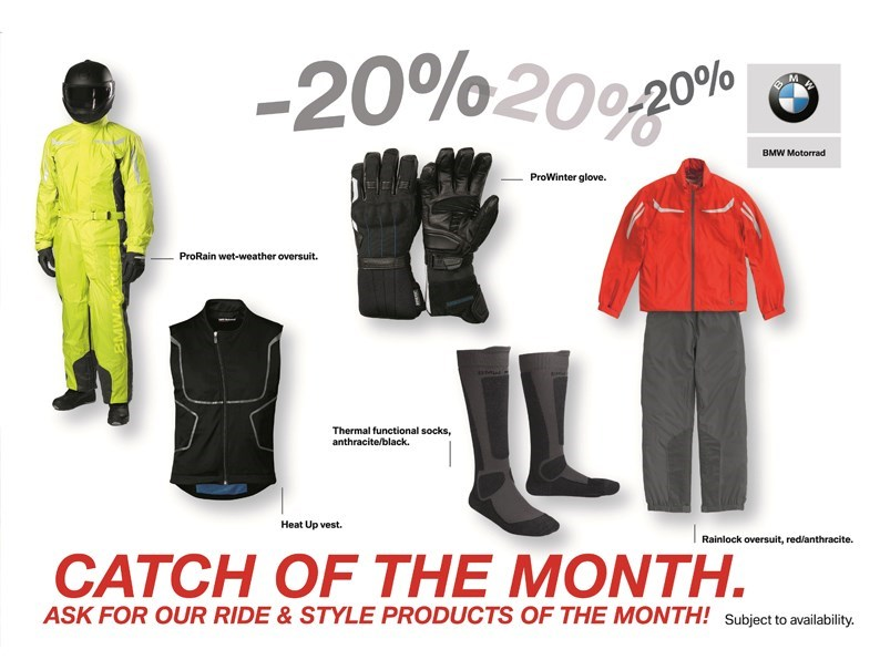 BMW Rider Equipment : Catch of the Month !
