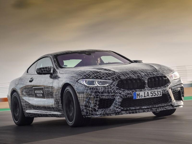 De laatste bocht op weg naar serieproductie: de nieuwe BMW M8.