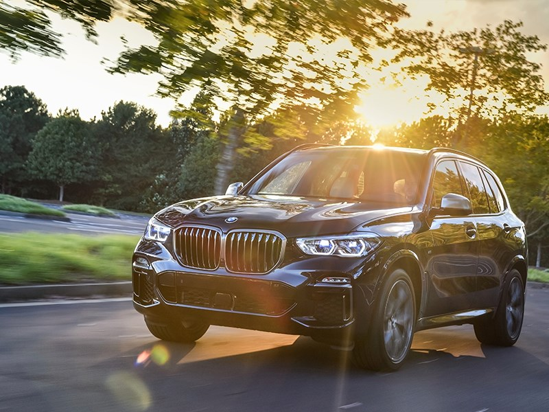 5x BMW EfficientDynamics op de nieuwe BMW X5.