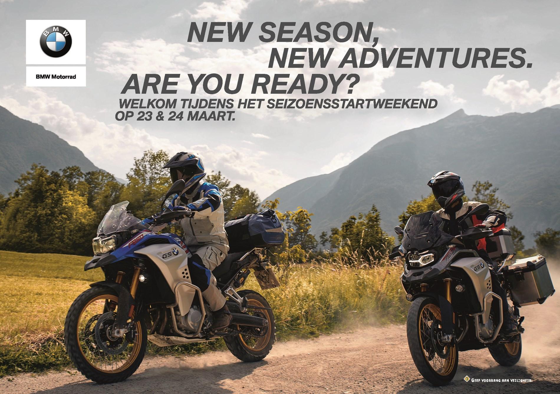 Acties: BMW Motorrad Start of Season 2019