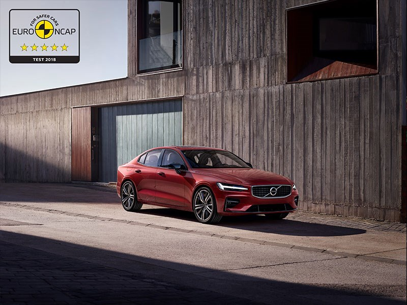Volvo S60 en V60 behalen vijf sterren in Euro NCAP-veiligheidsbeoordeling