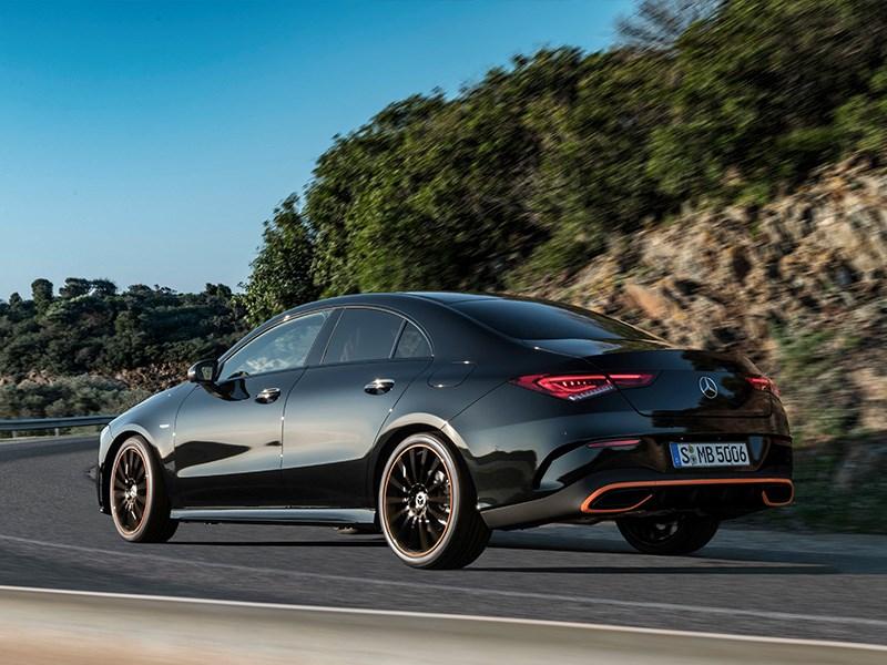 Le nouveau coupé CLA de Mercedes-Benz
