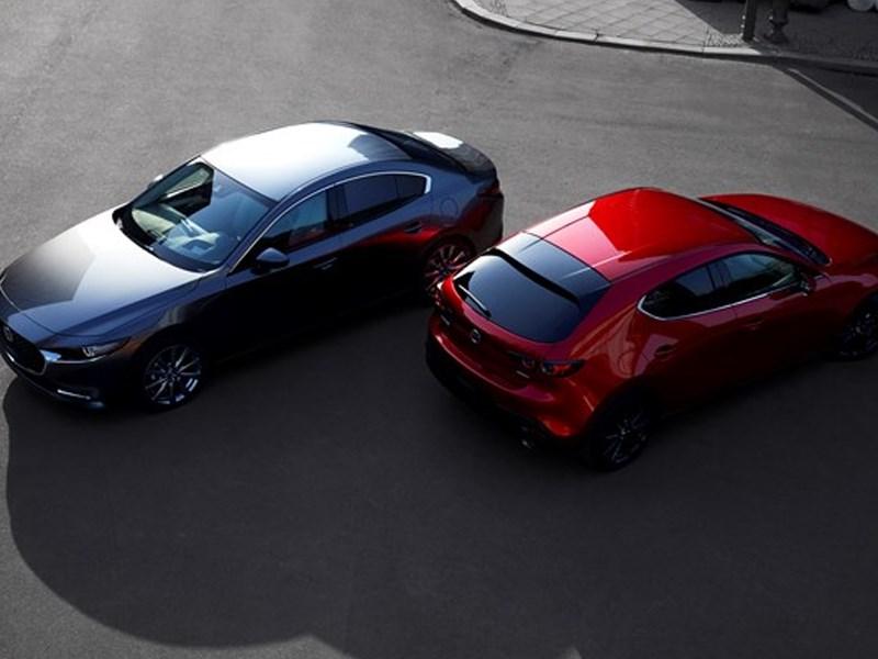 Europese première all-new Mazda3