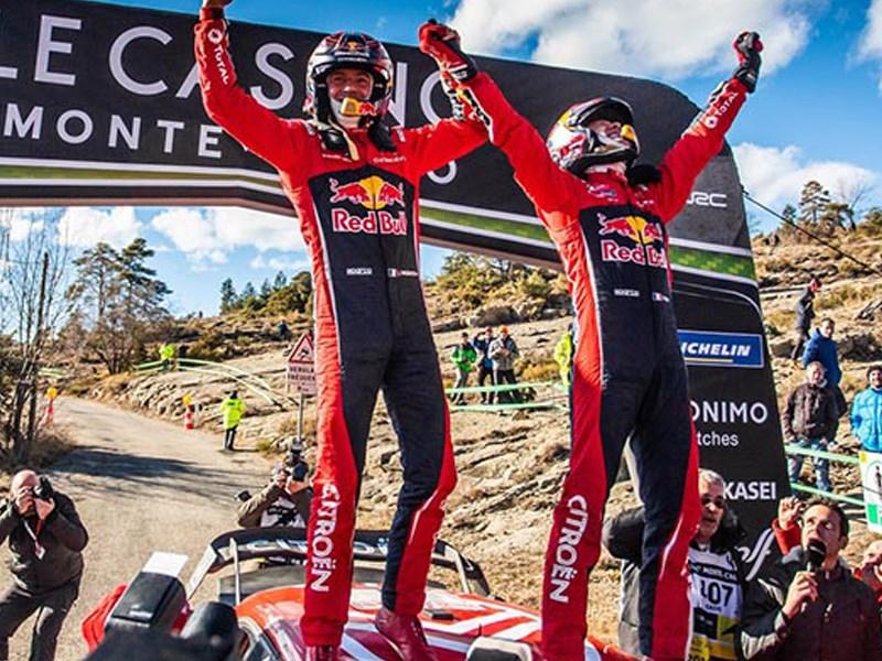 Honderdste WRC-zege voor CITROËn