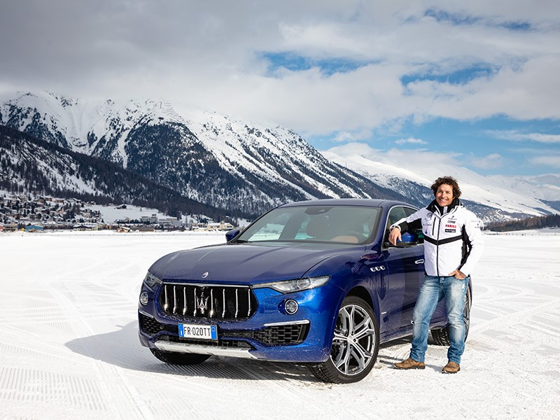 Maserati winter experience kicks off in St. Moritz
