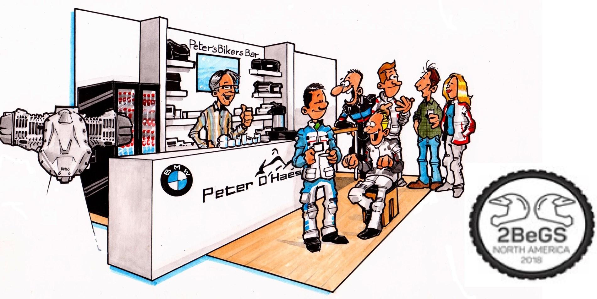 Peter's Bikers bar is open op donderdagavond 7 november 2019 in ZOTTEGEM