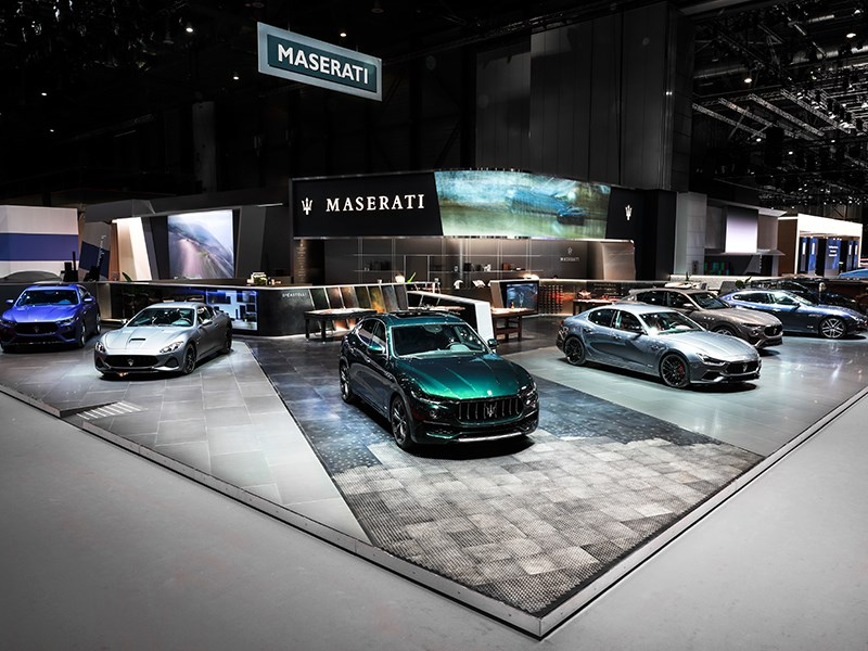 the Allegra Antinori's ONE OF ONE and the interactive Italian Excellence products experience at the 89th Geneva International Motor Show