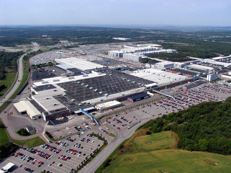 Volvo Cars gaat energieverbruik en uitstoot verlagen met nieuwe lakspuiterij