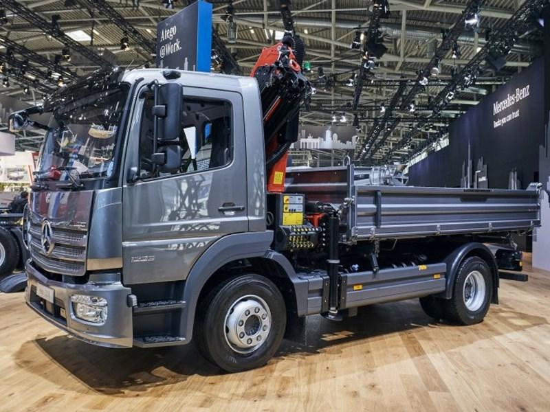 Daimler au salon Bauma 2019 de Munich