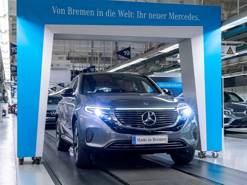Car Avenue Démarrage de la vente et de la production du Mercedes-Benz EQC