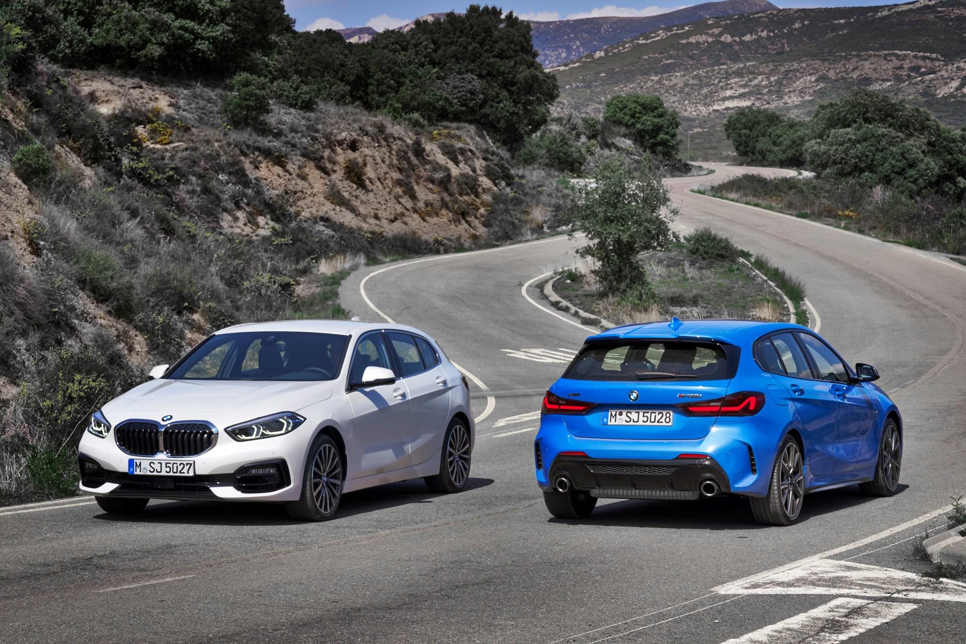 De nieuwe BMW 1 Reeks.Voorwielaangedreven derde generatie combineert voor BMW kenmerkend rijplezier met ruimer interieur.