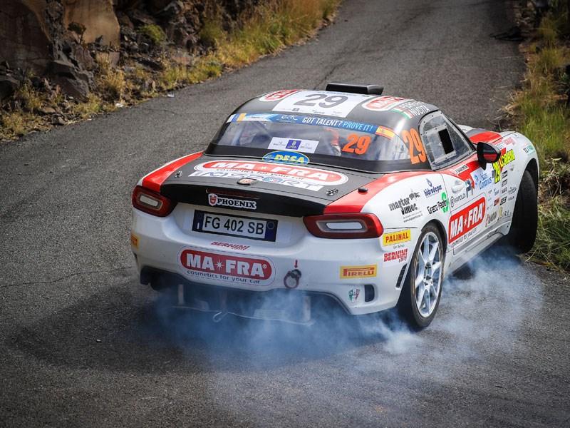Tweede manche van de Abarth Rally Cup - Gent Motors