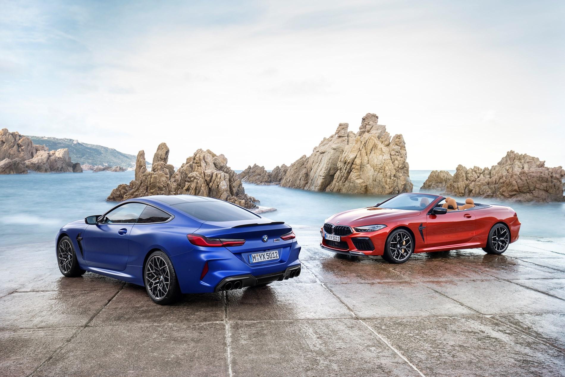 De nieuwe BMW M8 Coupé en BMW M8 Cabrio.