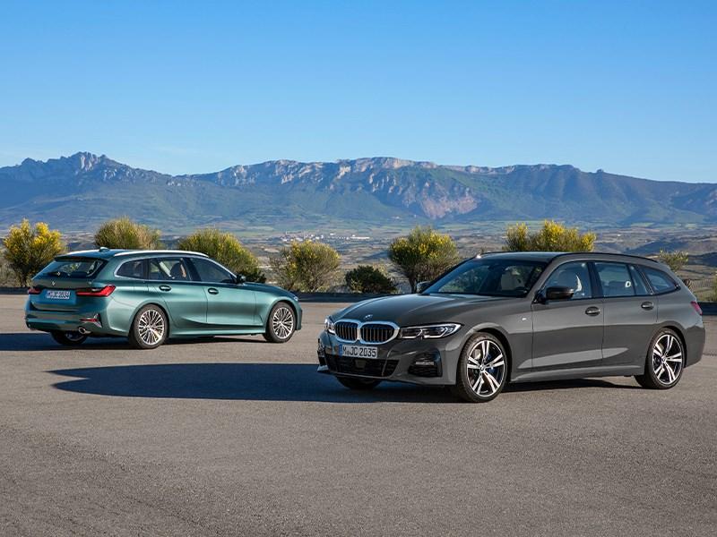 De nieuwe BMW 3 Reeks Touring