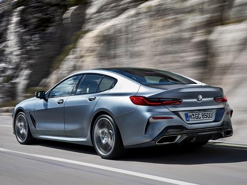 De BMW 8 Reeks Gran Coupé