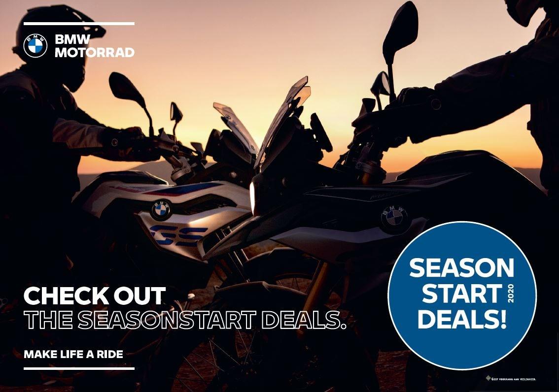 BMW MOTORRAD - START OF SEASON ACTIE 2020