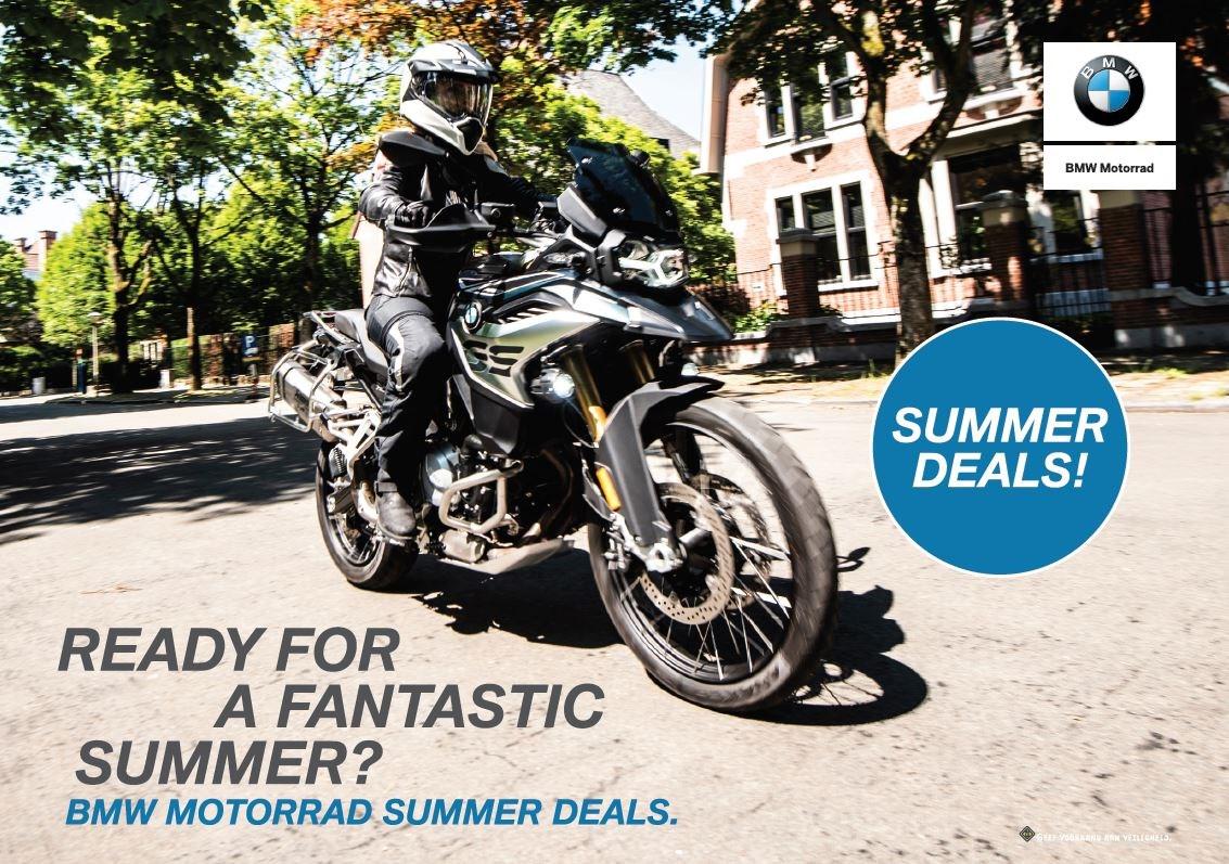 BMW Motorrad Summer Deals 2019