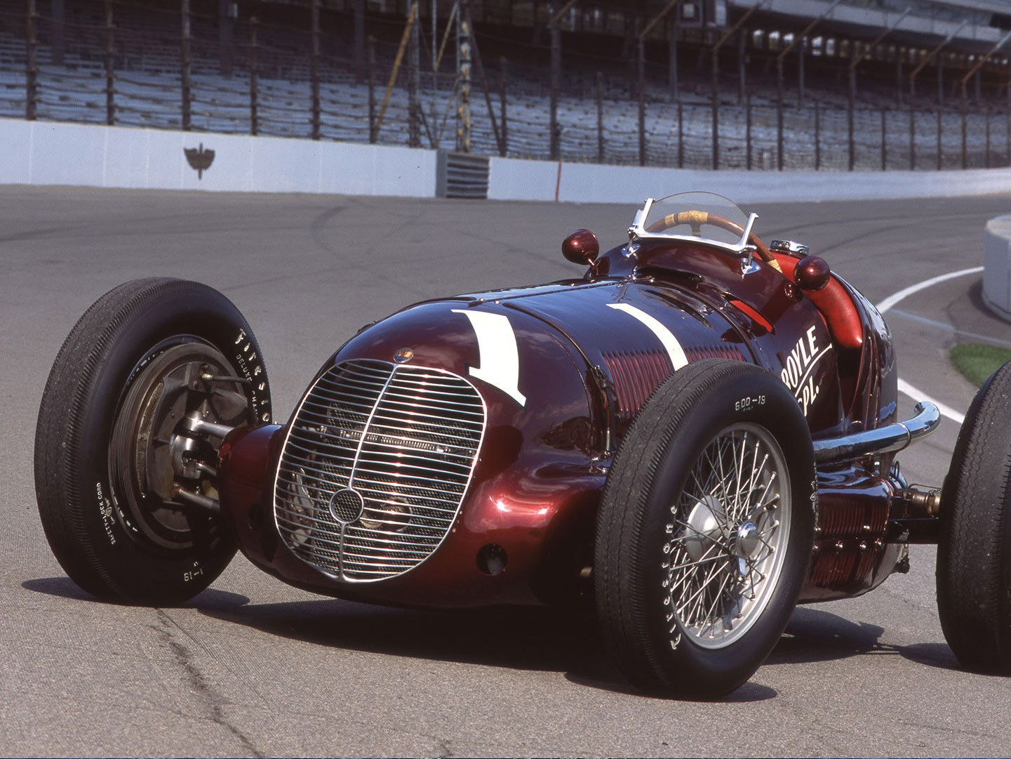 Maserati 8CTF: fantastic win at the Indianapolis 500 in 1939