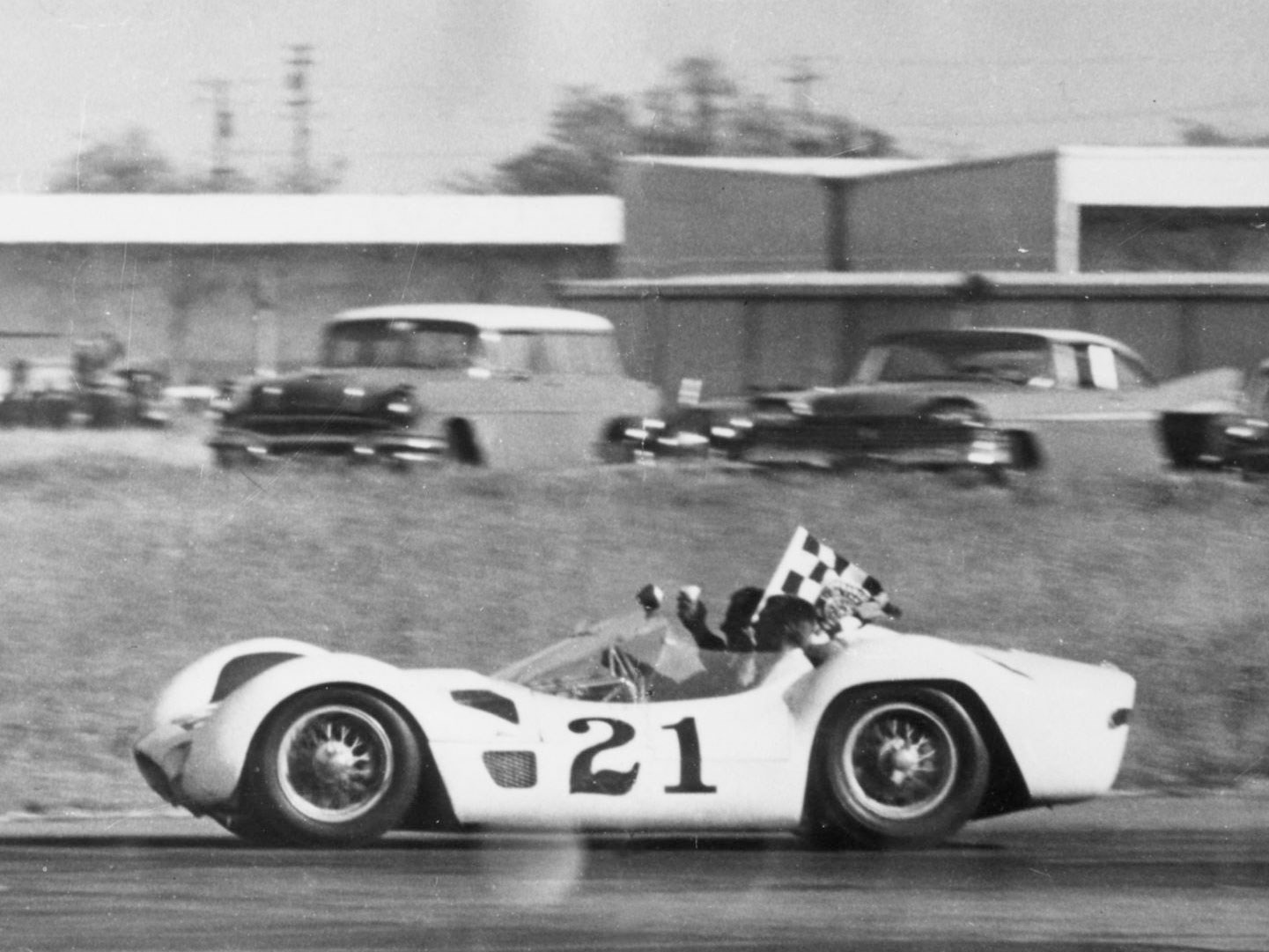 Maserati Tipo 60, debut and victory at Rouen on 12 July 1959
