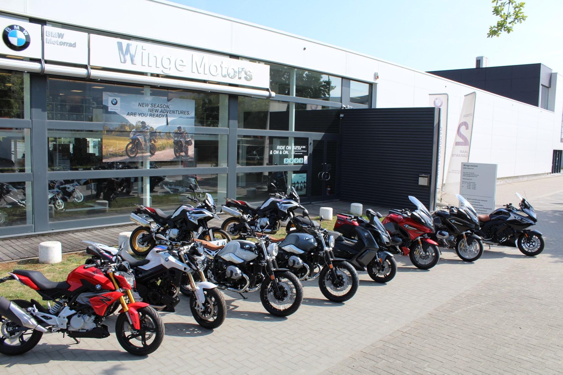 Stock actie op onze nieuwe BMW Motoren