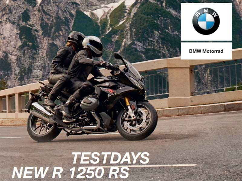 Test days : new R 1250 RS