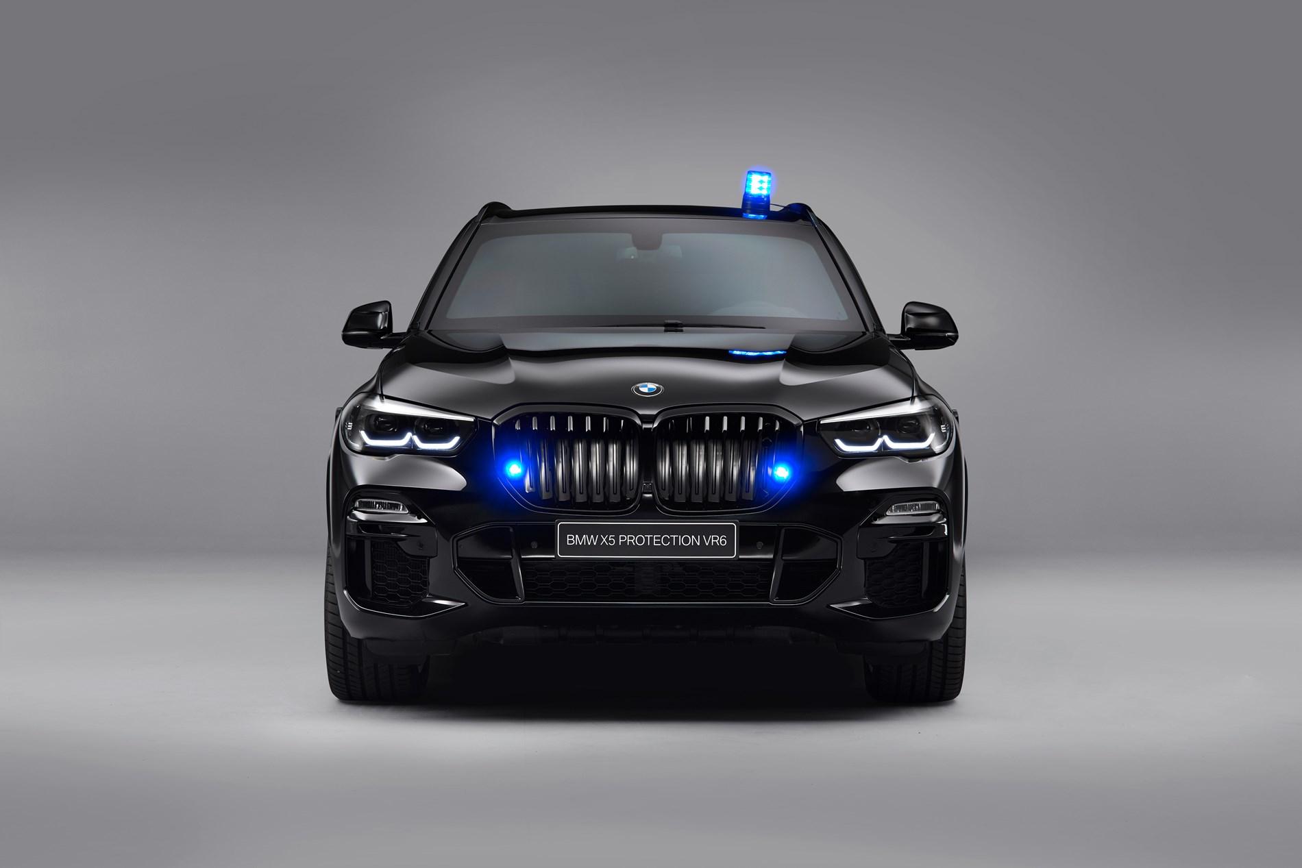 Bescherming en superioriteit zonder de minste toegeving: de nieuwe BMW X5 Protection VR6.