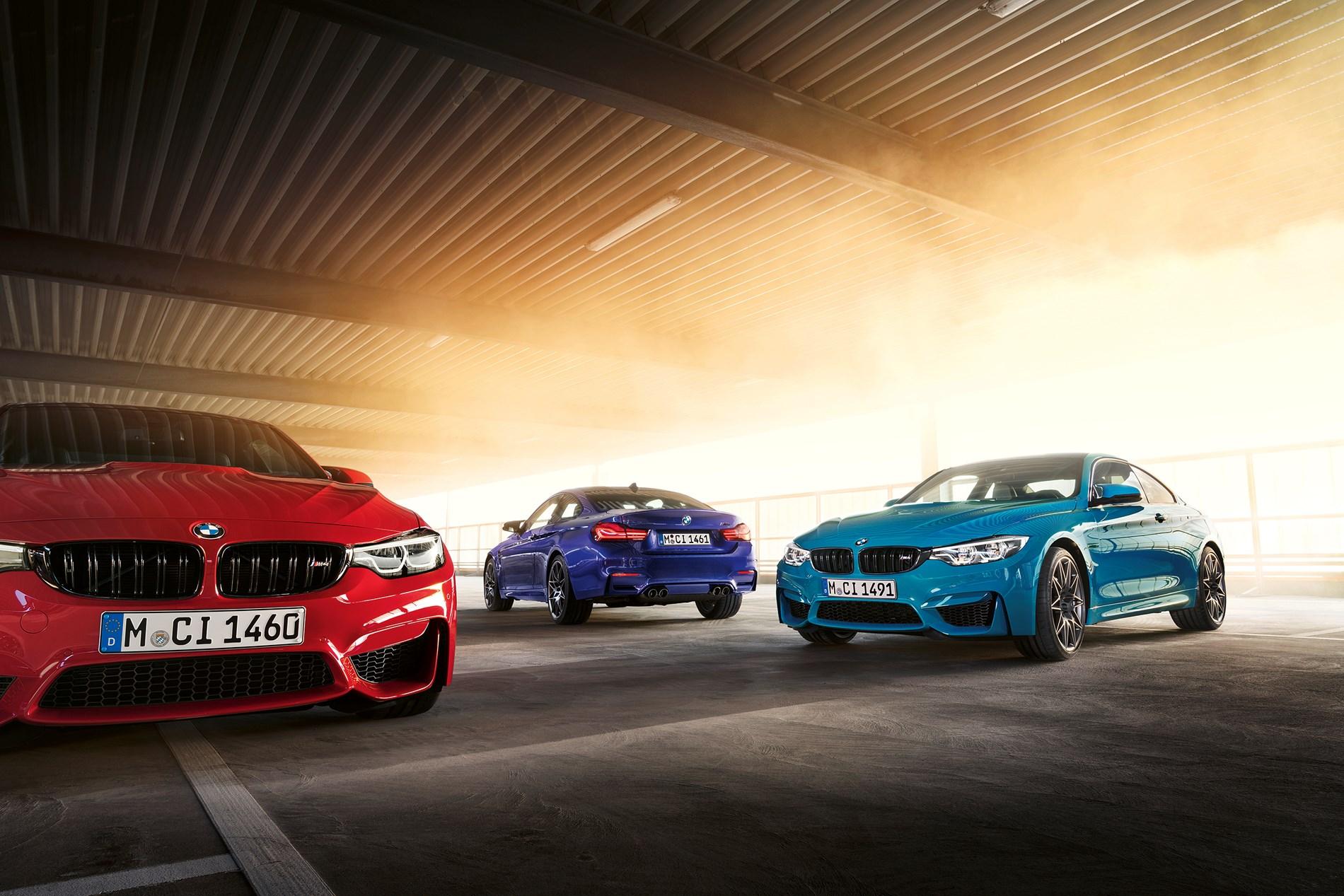 Prestaties en exclusiviteit volgens traditie: de BMW M4 Edition /// M Heritage.
