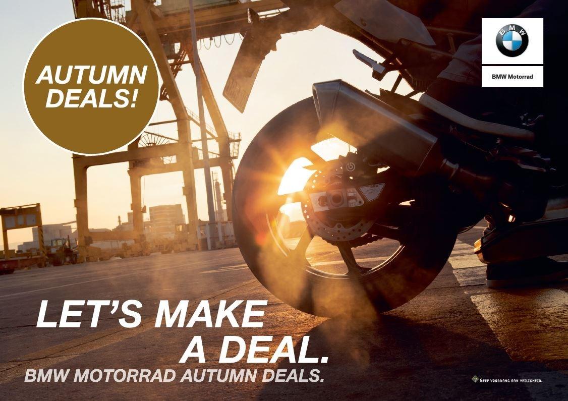 BMW Motorrad Autumn Deals