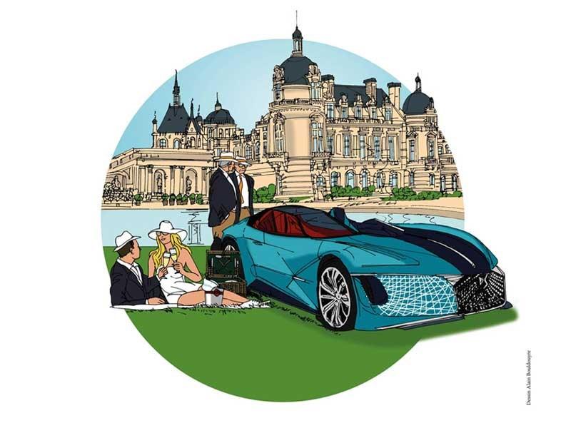 DS Automobiles Partner van Chantilly Arts & Élégance Richard Mille