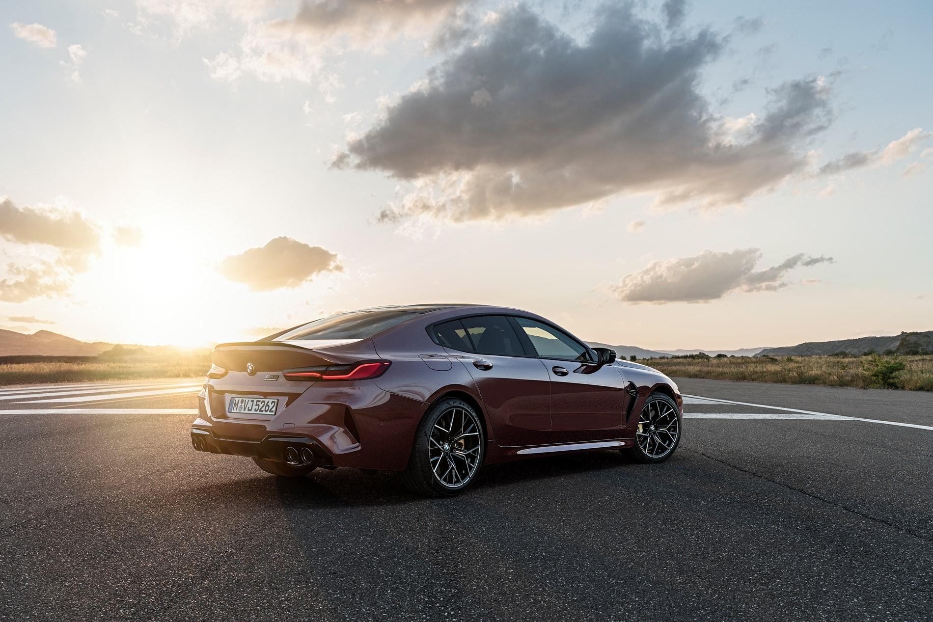 De nieuwe BMW M8 Gran Coupé en BMW M8 Competition Gran Coupé.