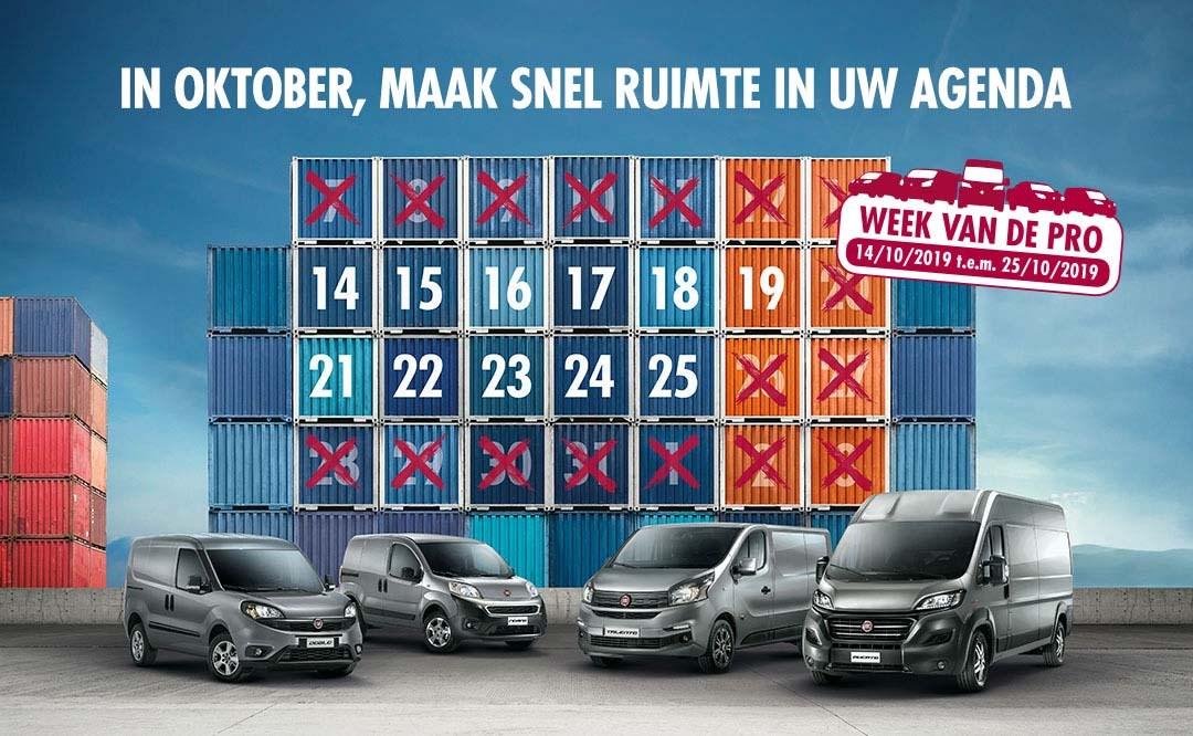 Week van de pro, by Fiat Professional! - Gent Motors