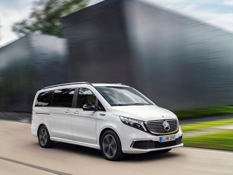 De Mercedes-Benz EQV: de eerste elektrische premium-MPV ter wereld