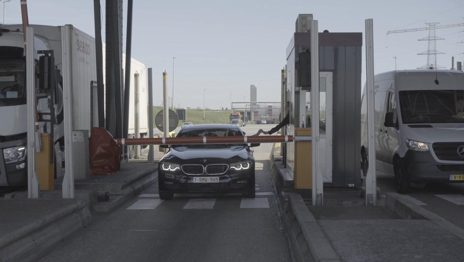 BMW test slimme verkeersstromen op Antwerpse Ring.