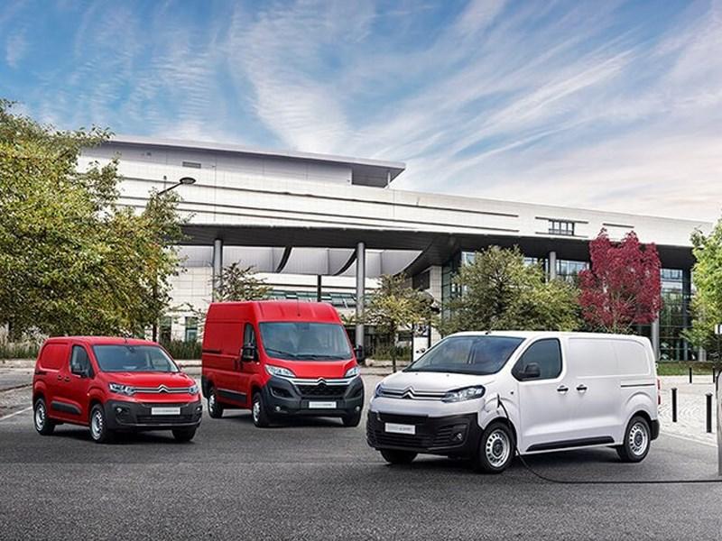 Citroën zet elektrisch offensief in voor zijn bedrijfswagengamma