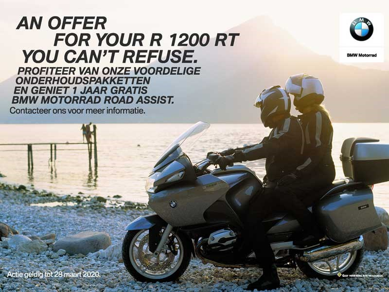 Keep your R 1200 GS/RT happy!