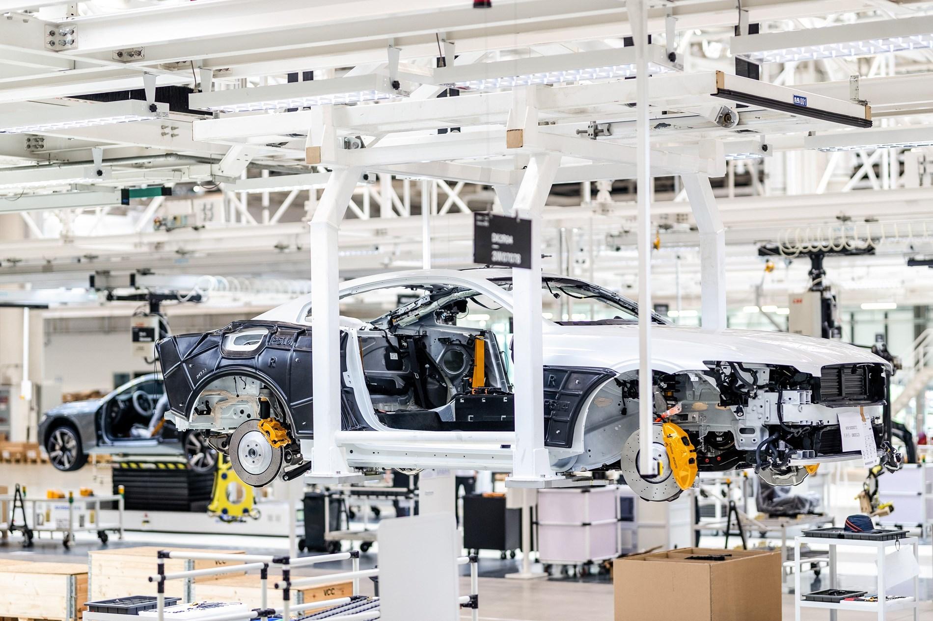 Polestar begint productie met prototypen Polestar 2 in fabriek in Luqiao