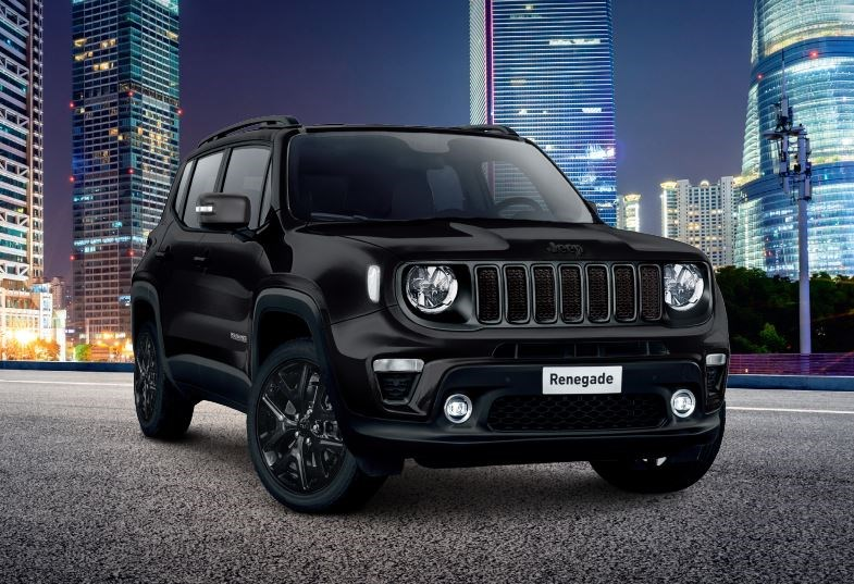 Saloncondities: Jeep Renegade Black Star - Gent Motors