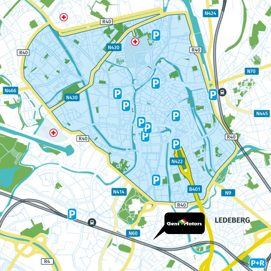 Lage-emissiezone Gent - Gent Motors