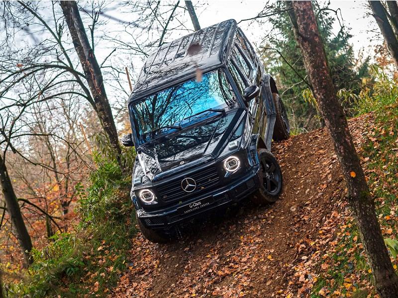 Car Avenue Découvrez la Classe G de Mercedes-Benz dans un style spectaculaire