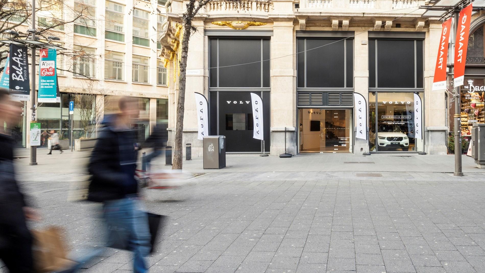 Naast het Autosalon in Brussel showt Volvo Car Belux ook wagens in Antwerpen en in Namen