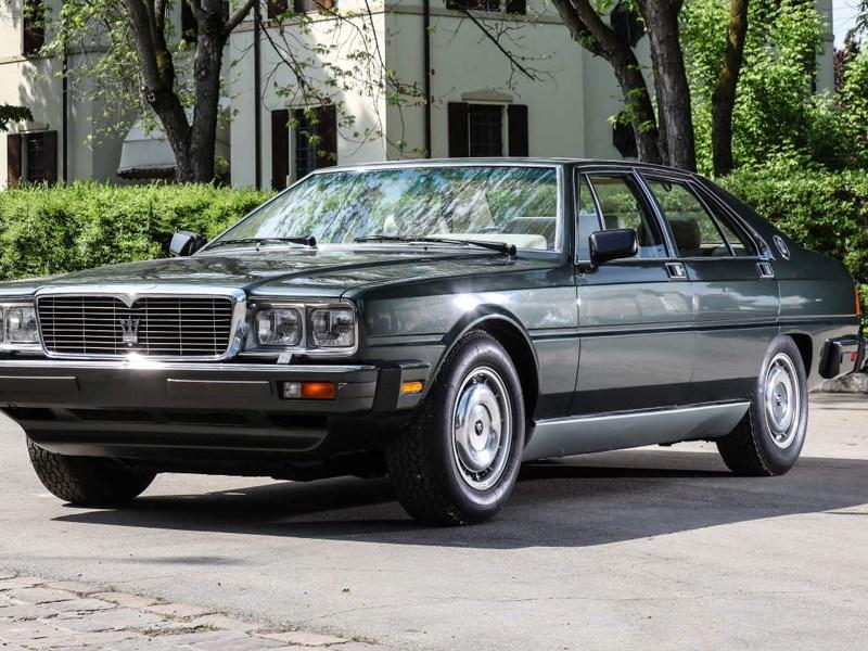 Forty years ago, the Maserati Quattroporte was presented to Italian President Sandro Pertini