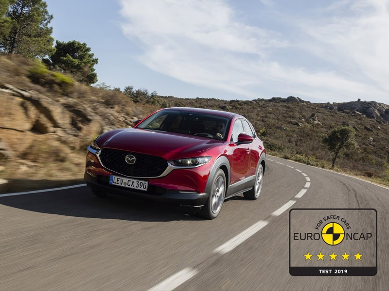 Mazda CX-30 behaalt 5 sterren in EURO-NCAP-test
