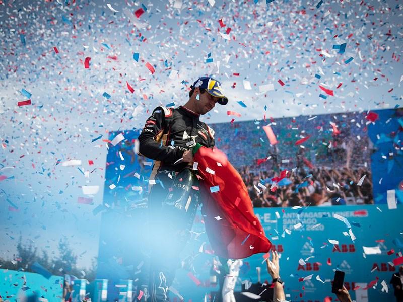 Une course pleine de rebondissements et un premier podium pour Antonio Felix Da Costa avec DS TECHEETAH