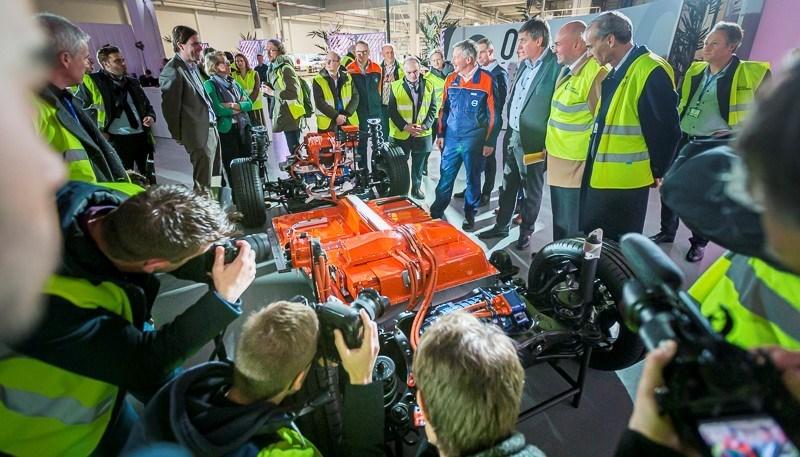 Volvo Cars opent nieuwe batterijfabriek in Gentse productievestiging