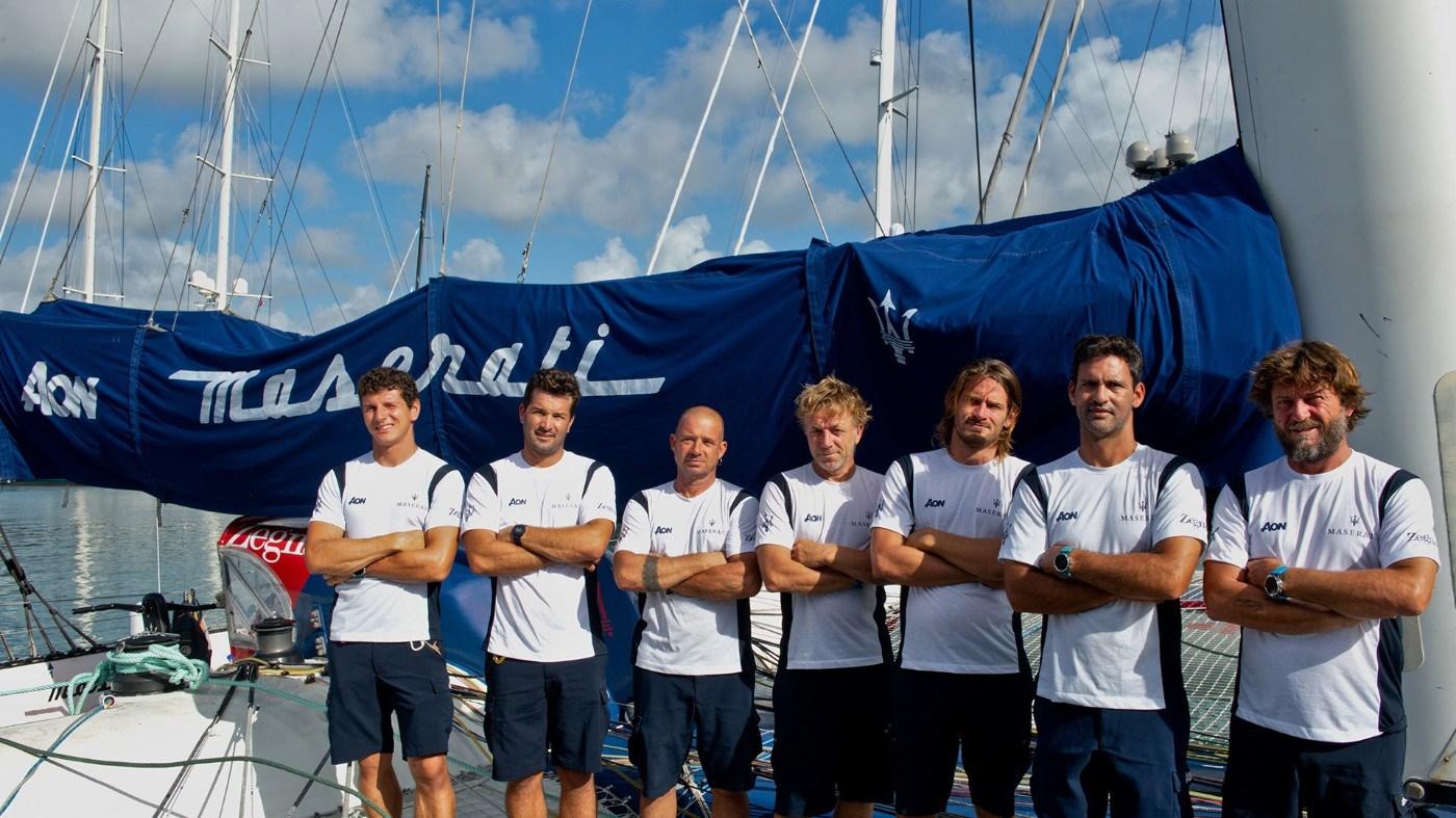 Maserati Multi 70 and Giovanni Soldini set sail for the RORC Caribbean 600