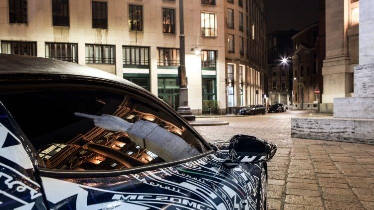 Maserati starts testing the prototype of the new MC20