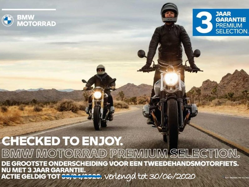 BMW Premium Selection 2020 - actie verlengd tot 30/06/2020!