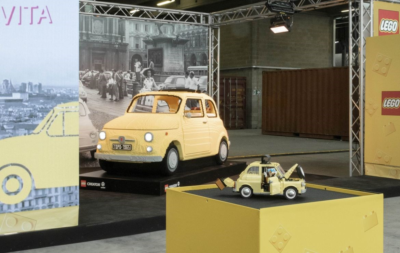 Introductie van 'Fiat 500 LEGO Creator Expert' - Gent Motors