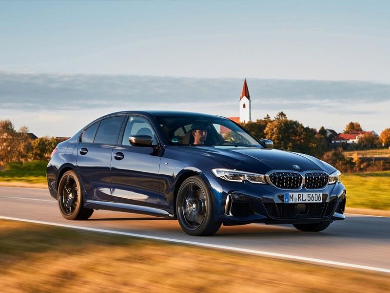 De nieuwe BMW M340d xDrive Berline en de nieuwe BMW M340d xDrive Touring.